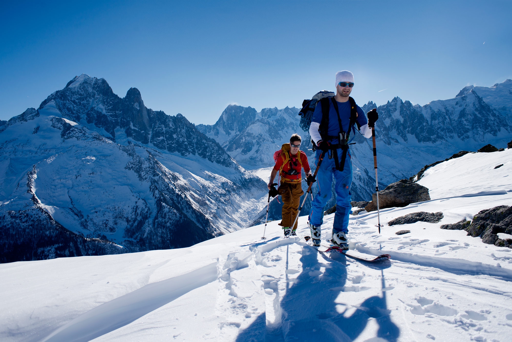 Skitour Col de Belvédère - Chamonix