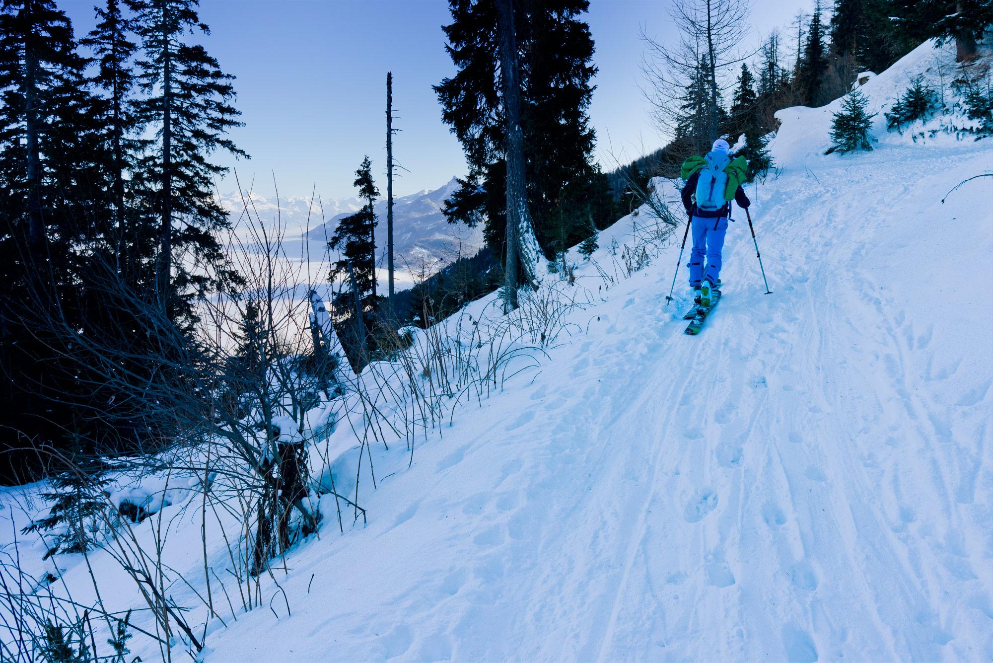 Pointe Ronde vanaf Col de Forclaz