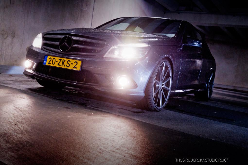Mercedes AMG C300 vossen VSF1