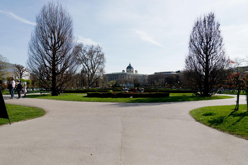 Hofburg park
