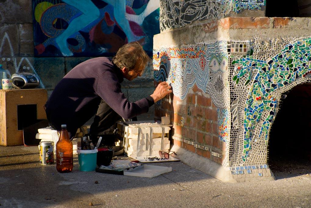 Kunstenaar in Wenen