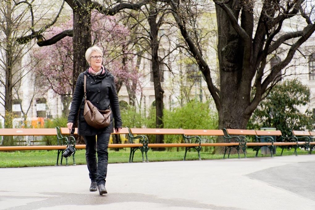 Rathaus park in Wenen