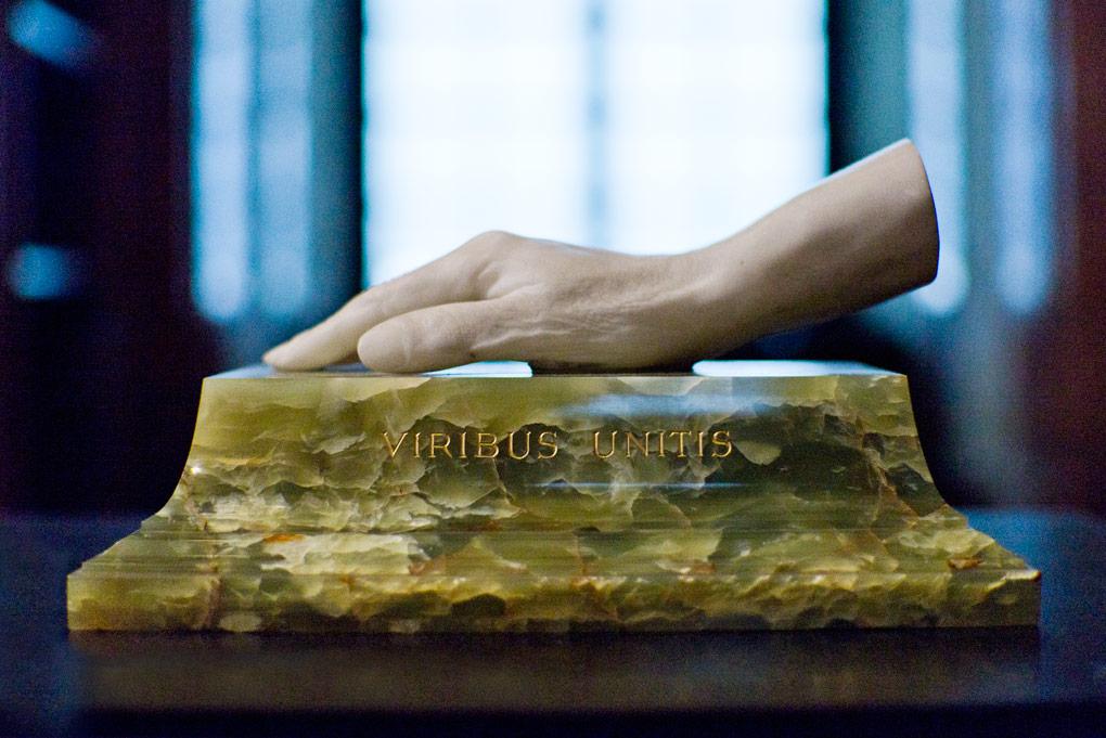 Hand van Franz Josef
