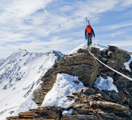 Sankt anton am arlberg klettersteig