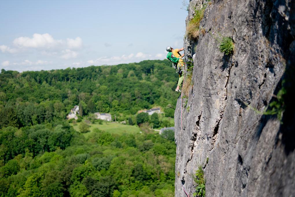 Traverseren met uitzicht op de belgische bossen - La Trans-Freyrienne