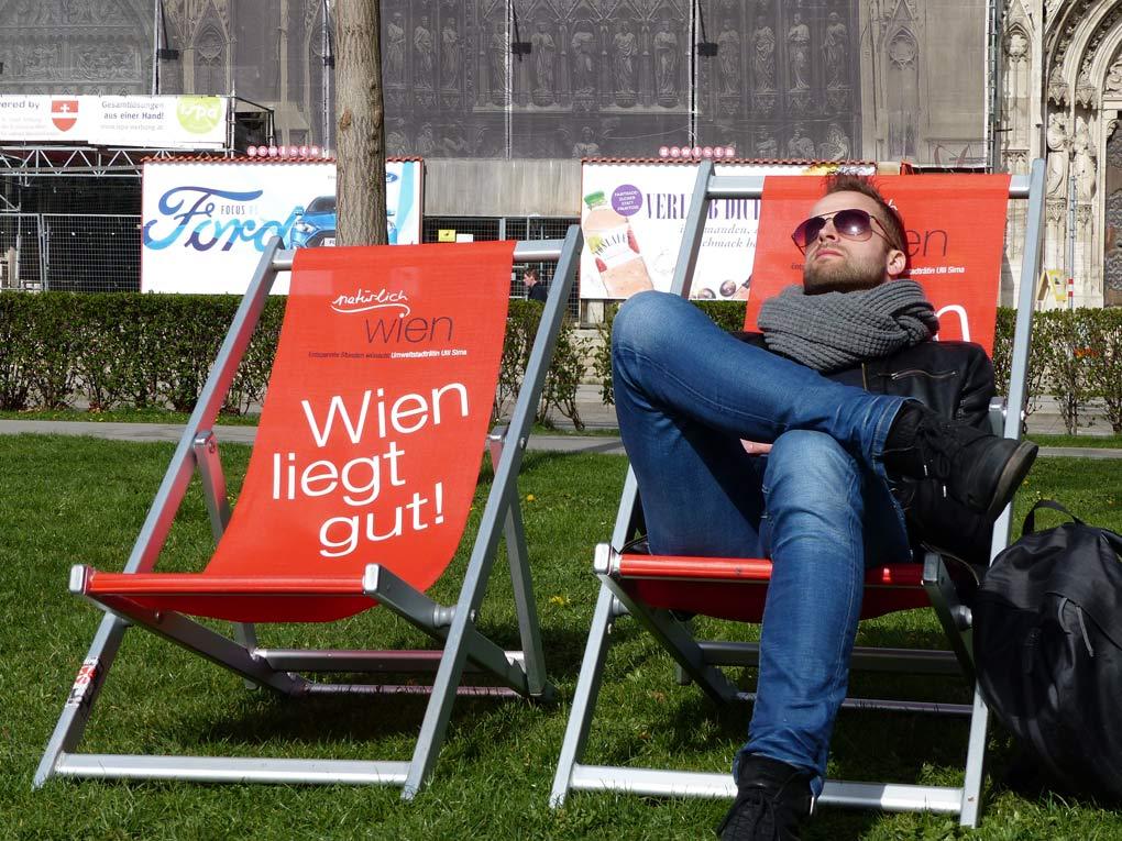 Chillen in Wenen